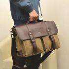 Canvas Messenger/Shoulder Bag Large Bags for Men