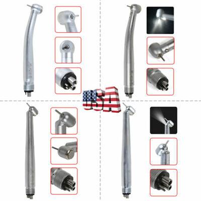 Dental High Speed45 Degree Turbine Handpiece 4hole Led E-generator M