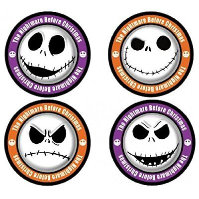 Nightmare Before Christmas Jack Skellington 4-Piece Coaster Set