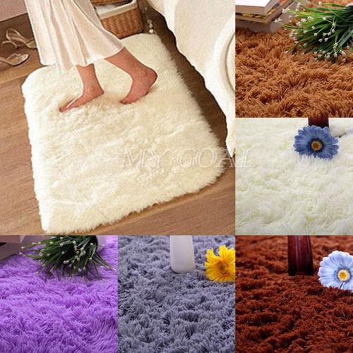 Shower Floor Mat Absorbent Memory Foam Rug Non Slip Bath Bathroom Carpet Hot