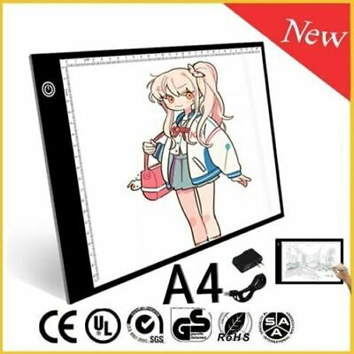 A4 LED Tracing light Board Artist Tattoo Drawing Drafting Graphics Tablet USA