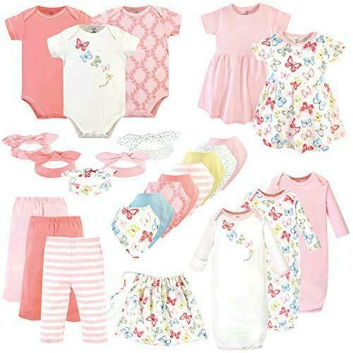 Touched by Nature Unisex Baby Layette Giftset, Butterflies, Size 0-6 Months CeM6