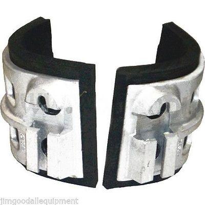 Replacement Cast Aluminum Pads For Climbing Spursfits Buckingham Spursonly 2lb
