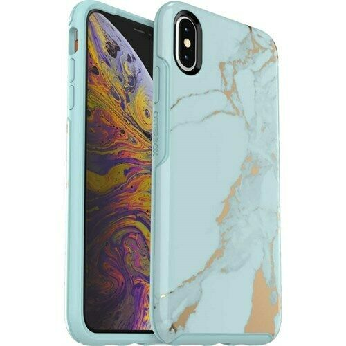 OtterBox Apple iPhone XS Max Symmetry Case - Teal Marble
