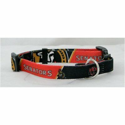 Ottawa Senators NHL Large L Dog/Cat Pet Collar NEW FREE US SHIPPING
