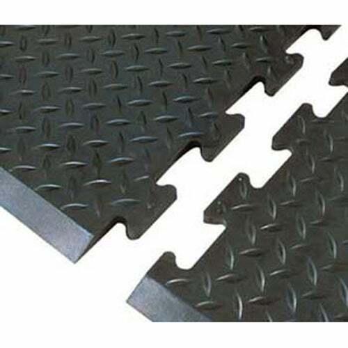 Interlocking Anti-Fatigue Mat, End Piece