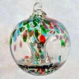 "Hanging Glass Ball 4"" Diameter ""Three Season"" Witch Ball (1) GB4"