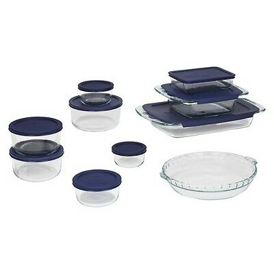 Pyrex 19 Piece Bake and Store Set - Clear