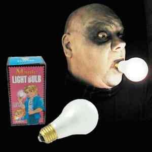 Magic lampadina chiaro luci da interno Batteria Zio Fester ...