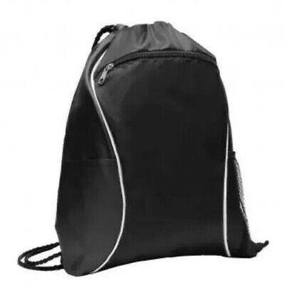 Port Authority BG613 Mens Fast Break Cinch Pack Draw String Bag Nap Sack BG613 Backpack Nap Sack