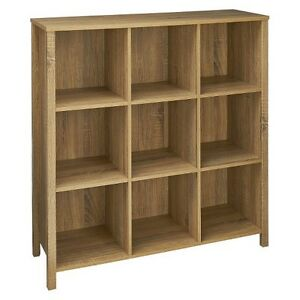 ClosetMaid Premium 9-Cube Organizer - Weathered Oak