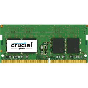 Crucial 8GB DDR4 Ram 2400 MHz SO-DIMM Memory 260-Pin