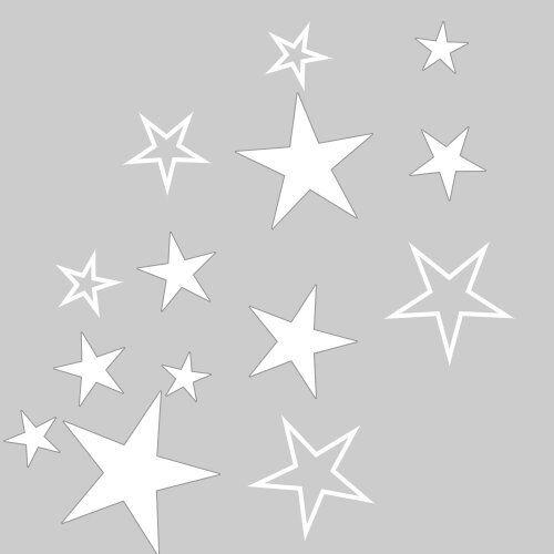 80 sterne fensteraufkleber fenstersticker weihnachten advent fensterbilder eur 16 45 picclick es. Black Bedroom Furniture Sets. Home Design Ideas