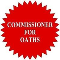 Commissioner for Oaths - South Edmonton - Rates from $20