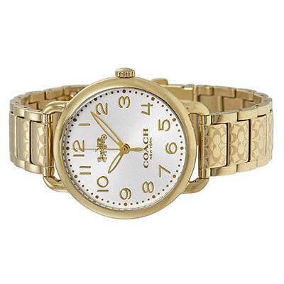 Coach Watch 14502496 Delancey Gold Bracelet Analog Ladies Watch