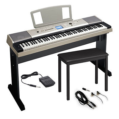 Yamaha YPG535 88-Key Portable Grand Digital Keyboard KEY ESSENTIALS BUNDLE on Rummage