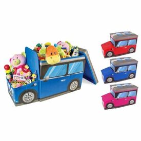 Car toy box , Red or Cerise available