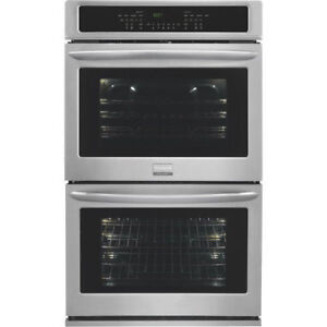 """30"""" FRIGIDAIRE GALLERY DOUBLE WALL-OVEN $1773.00"""