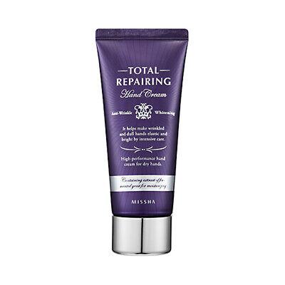 [MISSHA] Total Repairing Hand Cream - 60ml / Free Gift