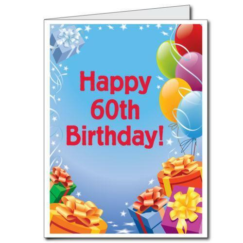 60th birthday party decorations ebay for Decoration 60th birthday party