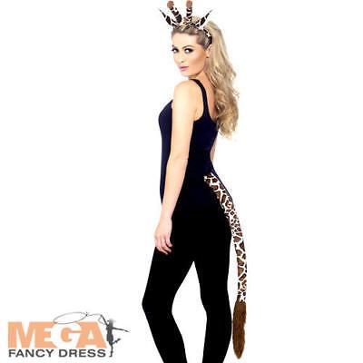 Giraffe Fancy Dress Kit Zoo Animal Unisex Adults Kids Dress Up Costume - Giraffe Kostüm Kit