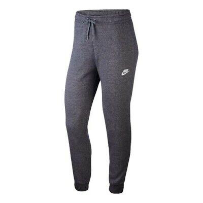 Nike Womens NSW Fleece Pants Grey Jogging Running Warm Winter Sports Super Soft