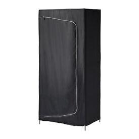 Ikea Breim black wardrobe