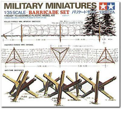 Tamiya 1/35 Barricades 35027 Military Model Kit