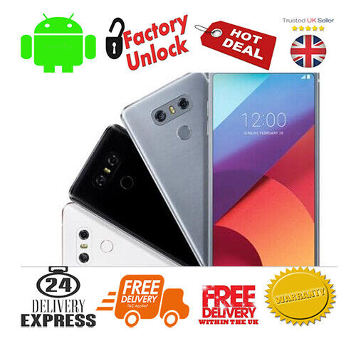 Android Phone - LG G6 H872 5.7 inch Touch Screen 32GB Storage Android Phone Unlocked Sealed Pack