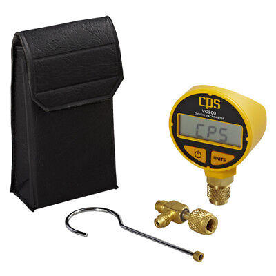 Large Digital Display Vacuum Gauge Vacuumeter Microns Torr Inhg Mbar Reader