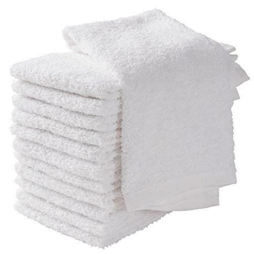 Bar Mop 24 Pcs Towels,16x19 Cleaning Rag Towel 100% Pure Cotton