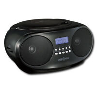Insignia - CD Boombox with AM/FM Tuner and AUX Jack
