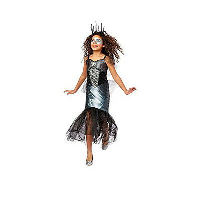 Target Mermaid Costume (Skeleton Mermaid Halloween Costume  Dress Up  Sequins  Sea Witch  Skull )