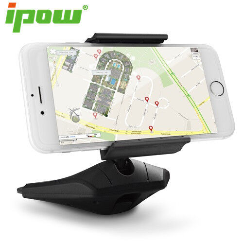 Ipow Universal One Touch Installation CD Slot Smartphone Car