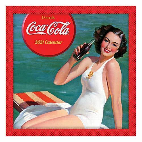 TF PUBLISHING 2021 Coca-Cola Mini Monthly Calendar - Appointment Tracker - Co...