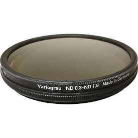HELIOPAN 77MM VARIABLE GRAY ND FILTER - top of the range!