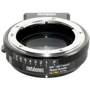 Metabones Nikon G to M43 Speed Booster Ultra 0.71x - $400.00