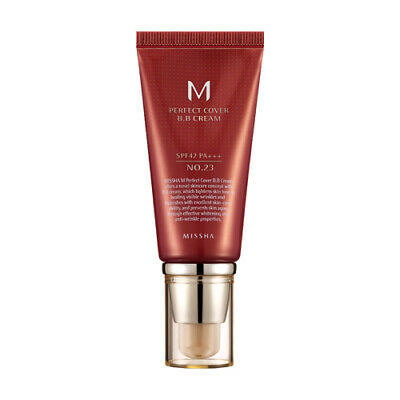 {MISSHA} M Perfect Cover BB Cream SPF42 PA+++ [23.Natural Beige] 50ml