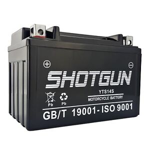 Replacement YTZ14S-BS Battery for BMW F800GT Motorcycle Model(s) - ( 2014-2013 )