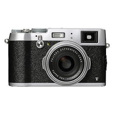 Fujifilm X100T 16.3MP Digital Camera Full HD Wi-Fi Silver