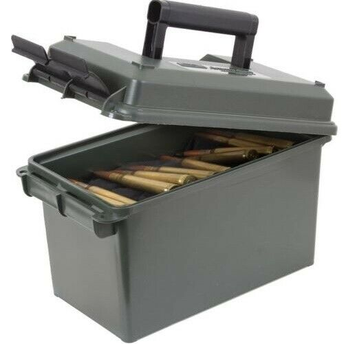MTM AC50C11 Waterproof 50 Cal Ammo Range Case Box