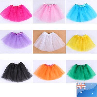 Tutu skirts for Baby girls from 2-7T chiffon fluffy summer Ballet dance wear