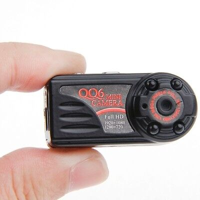32GB Full HD Mini DV Spy Kamera CAM 1080P 720P 12MP MOTION DETECTION bis 32GB A9 (720p Hd Spy Kamera)