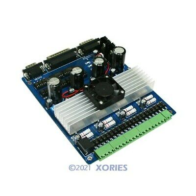 4 Axis Cnc Stepper Motor Driver Board Controller Tb6560