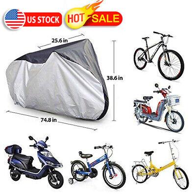 3f9e462573 Heavy Duty Waterproof Bicycle Cover Bike Sun/Rain/Snow/Dust Proof UV  Protector