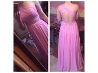 Pink Bridesmaid / Prom Dress size 10-12s