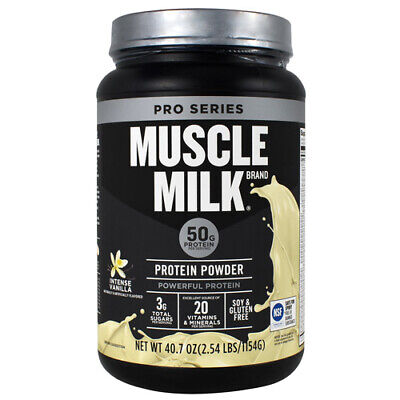 Cytosport Muscle Milk Pro Series Protein Powder, 50g Protein, 2.54 Pounds Milk Protein Powder
