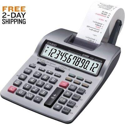 Casio Inc. HR-100TM CALCULATOR NEW FREE 2-DAY SHIPPING