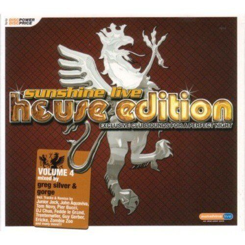 Sunshine Live-House Edition 4 (2007) Pier Bucci, DJ Chus & David Penn, .. [3 CD]