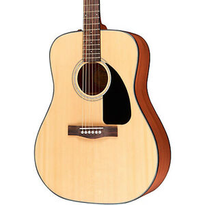 FENDER DG-60 ACOUSTIC GUITAR with CASE MINT